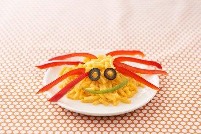 Spider Mac N Cheese