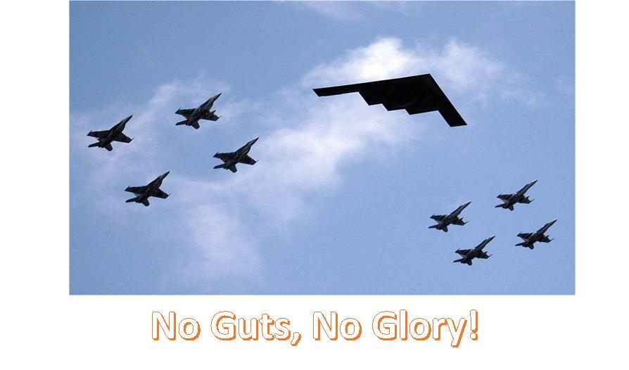 No Guts, No Glory Image