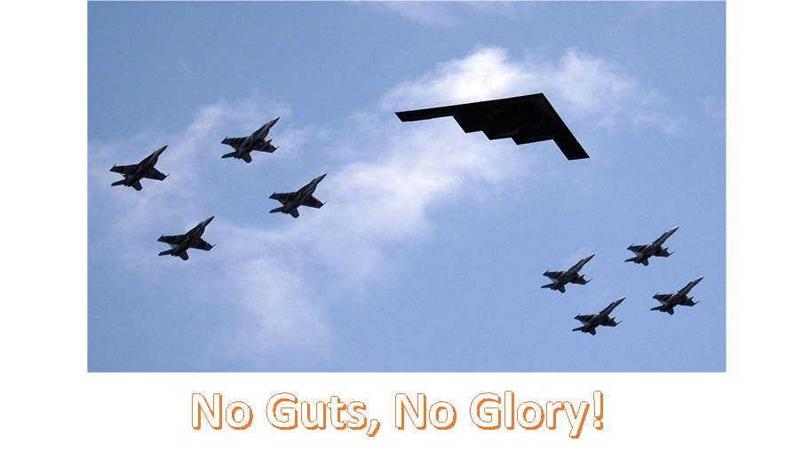 No Guts, No Glory Image